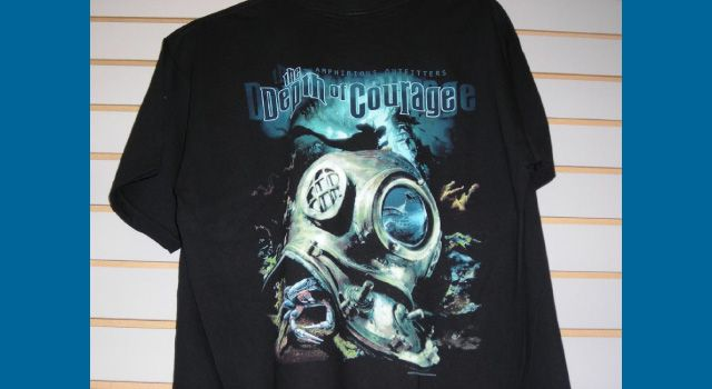 """Depth of Courage"" shirt"