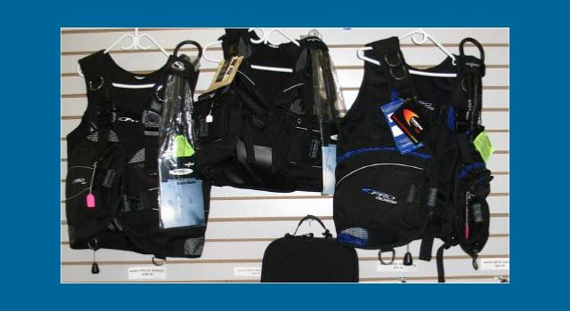 Sea Quest buoyancy compensators
