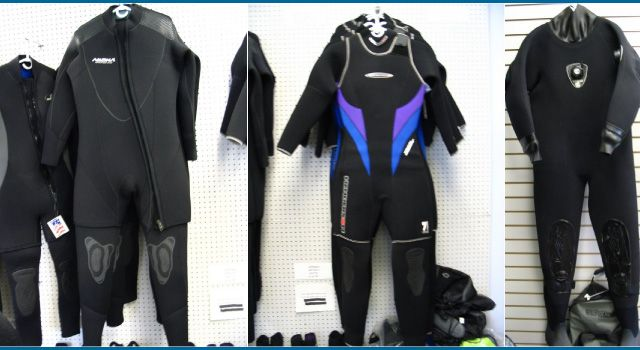 Name brand wetsuits